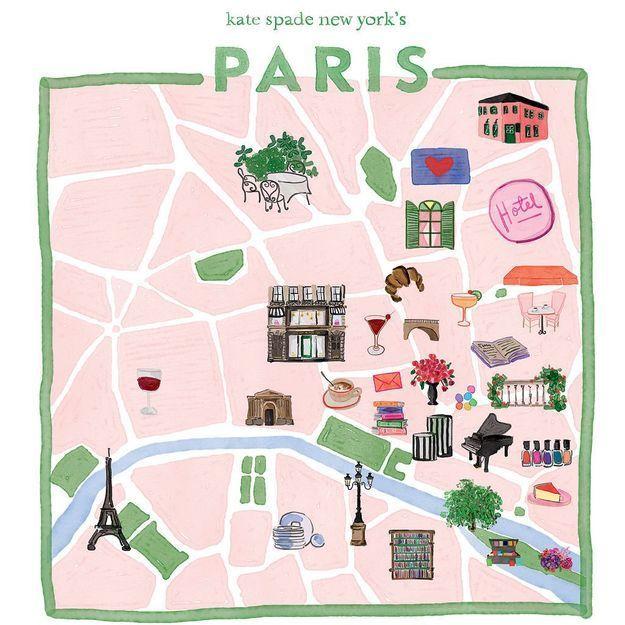 kate spade new york nous fait vivre une expérience unique dans les rues de Paris
