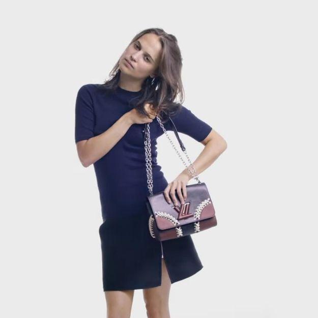 #PrêtàLiker : Alicia Vikander twiste pour Louis Vuitton