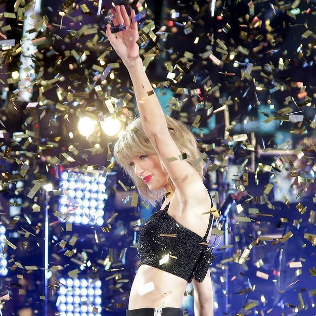 La chute de Taylor Swift pour terminer l'année 2014