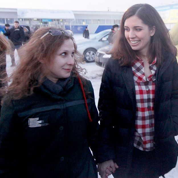 Macha Alekhina et Nadejda Tolokonnikova des Pussy Riot : l'interview