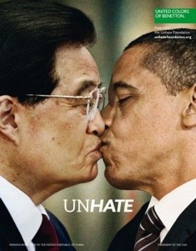 Unhate : bon baisers de Benetton