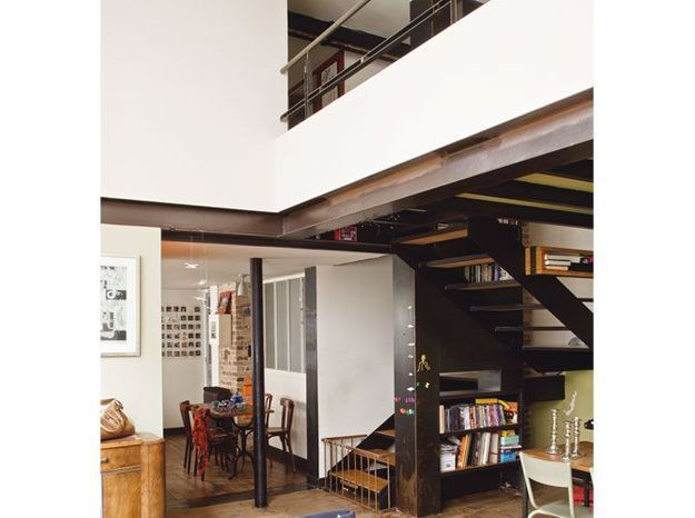 Un atelier converti en loft
