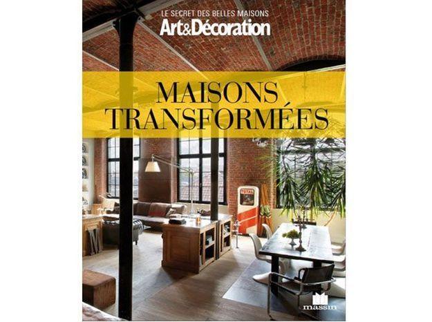 livre art d coration 39 maisons transform es 39 elle d coration. Black Bedroom Furniture Sets. Home Design Ideas