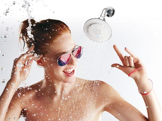 Prenez votre douche en musique elle d coration for Musique salle de bain