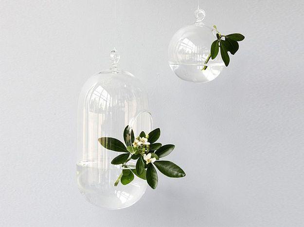 l 39 objet d co du jour les vases suspendre comingb elle d coration. Black Bedroom Furniture Sets. Home Design Ideas
