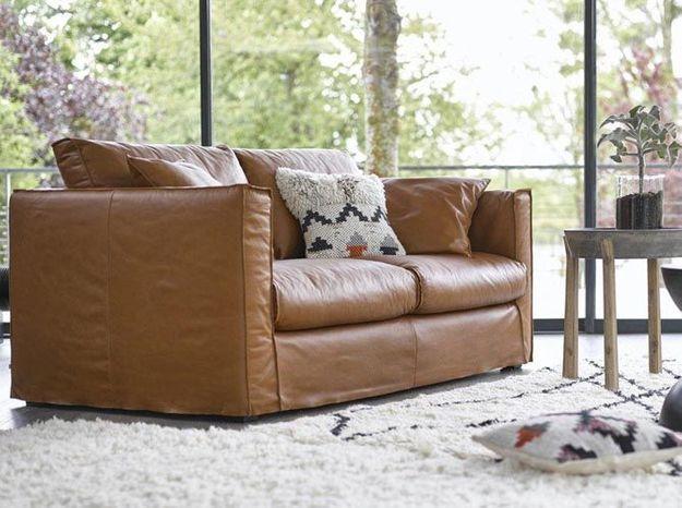 le on de d co comment faire entrer le cuir dans sa maison elle d coration. Black Bedroom Furniture Sets. Home Design Ideas