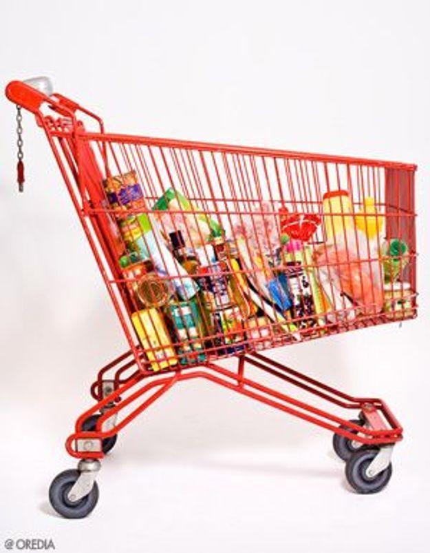 supermarch un caddie qui fait plaisir aux enfants. Black Bedroom Furniture Sets. Home Design Ideas