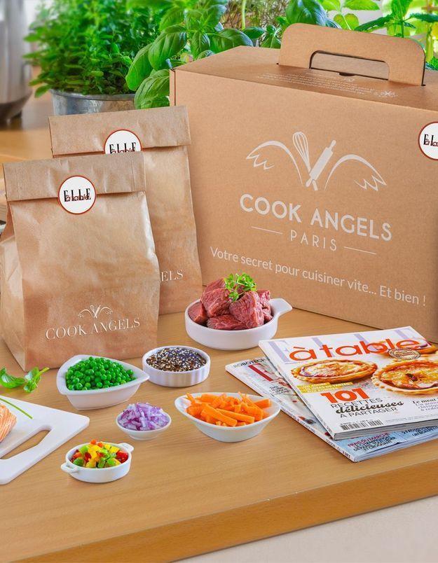 Bénéficiez de 30% de réduction sur votre kit à cuisiner Cook Angels X ELLE à table