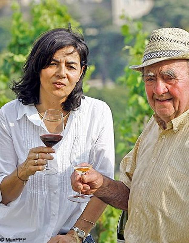 Une femme élue meilleur vigneron de France