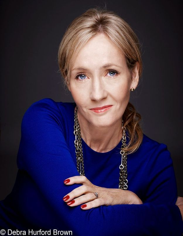 J.K. Rowling dans la cour des grands