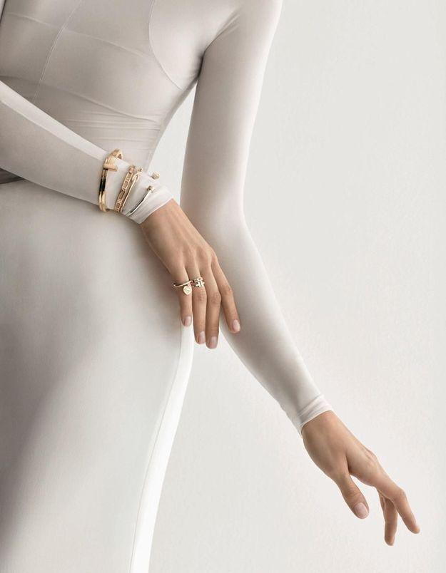 L'instant mode : les bagues et bracelet T Wrap de Tiffany and Co