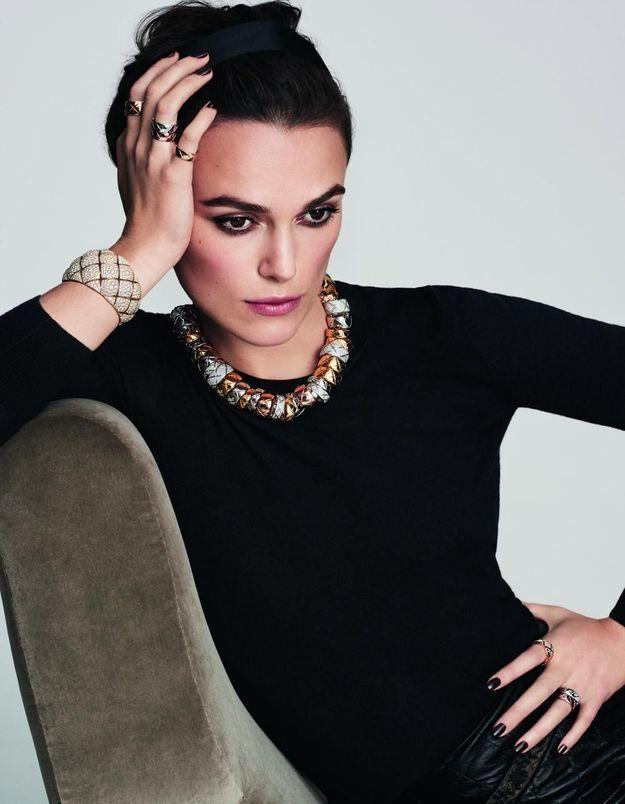 #PrêtàLiker : Keira Knightley, égérie de la collection Coco Crush de Chanel