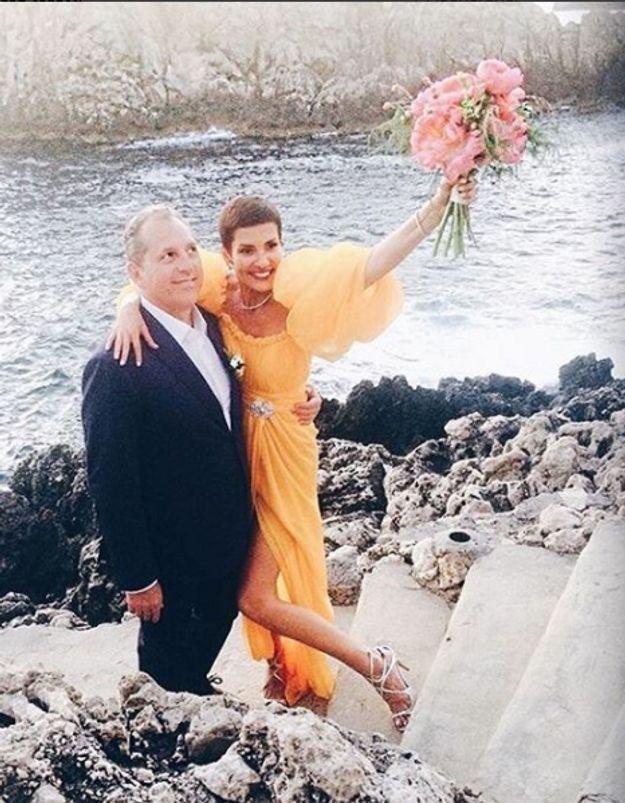 On sait (enfin) pourquoi Cristina Cordula s'est mariée en jaune