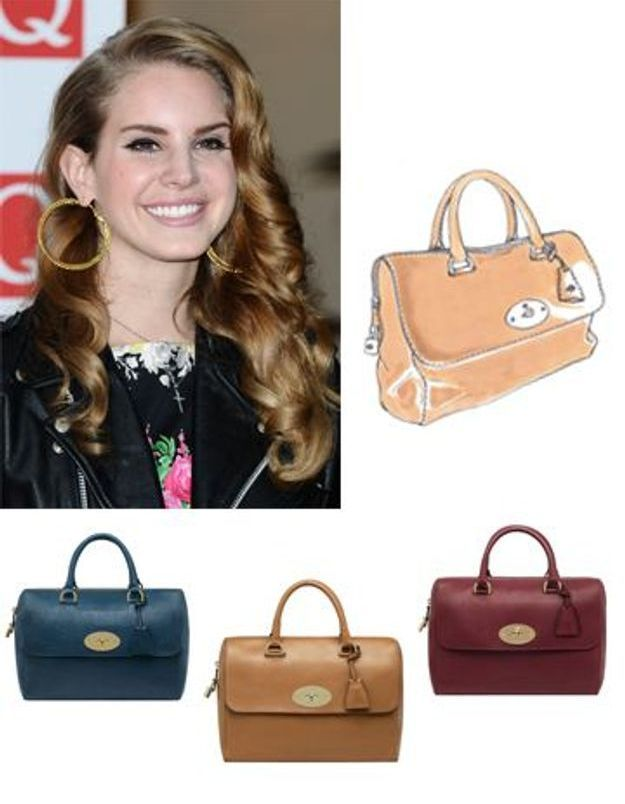 Mulberry crée un it bag en l'honneur de Lana Del Rey
