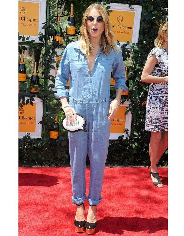 La combi-pantalon de Dree Hemingway