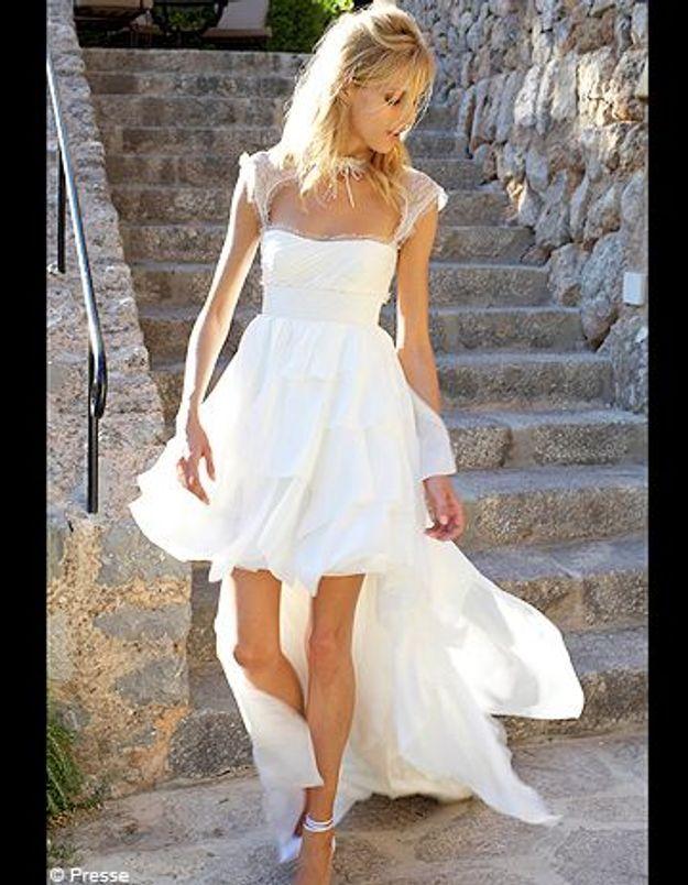 Le mannequin anja rubik s est mari e elle - Noelle breham est elle mariee ...