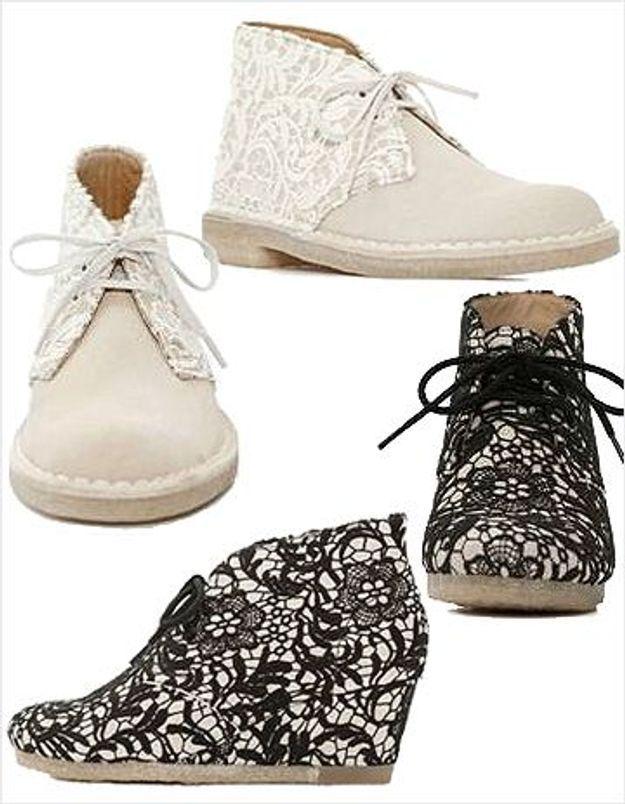 Les « desert boots » Clarks revisitées par American Retro