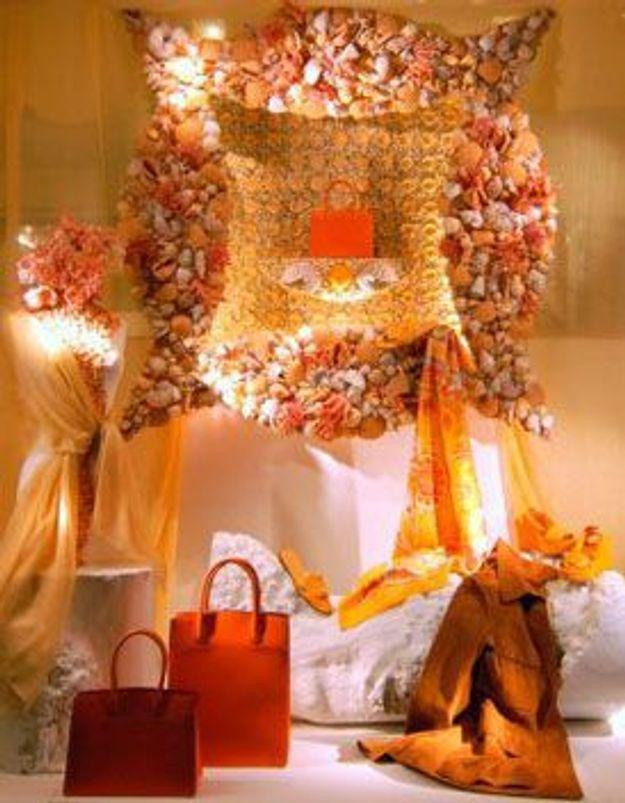 """Mes vitrines NYC : """"C'est beau, estival, coloré, surprenant et c'est signé Hermès"""""""