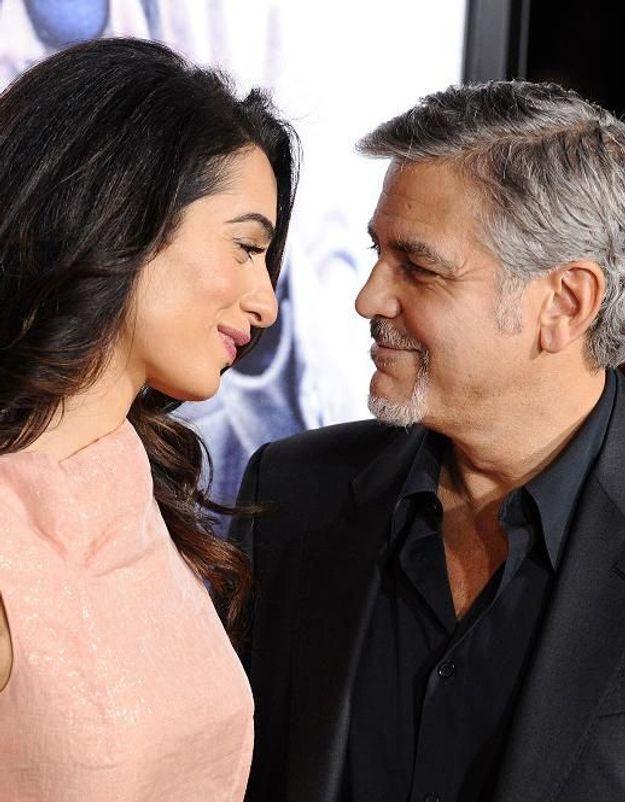 George Clooney et Amal : découvrez l'histoire romantique de leur première rencontre