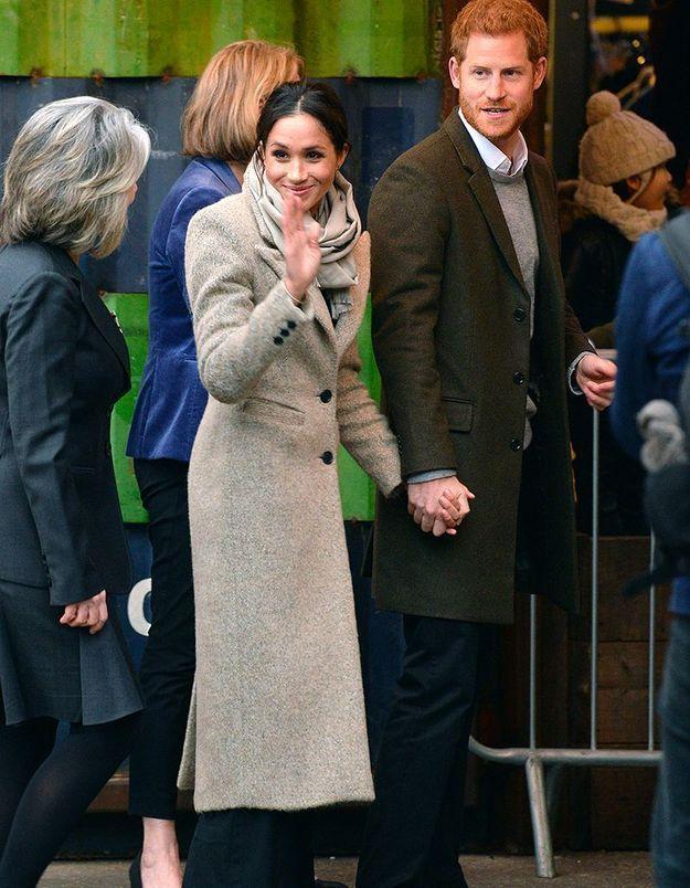 Arrivée du couple à Brixton