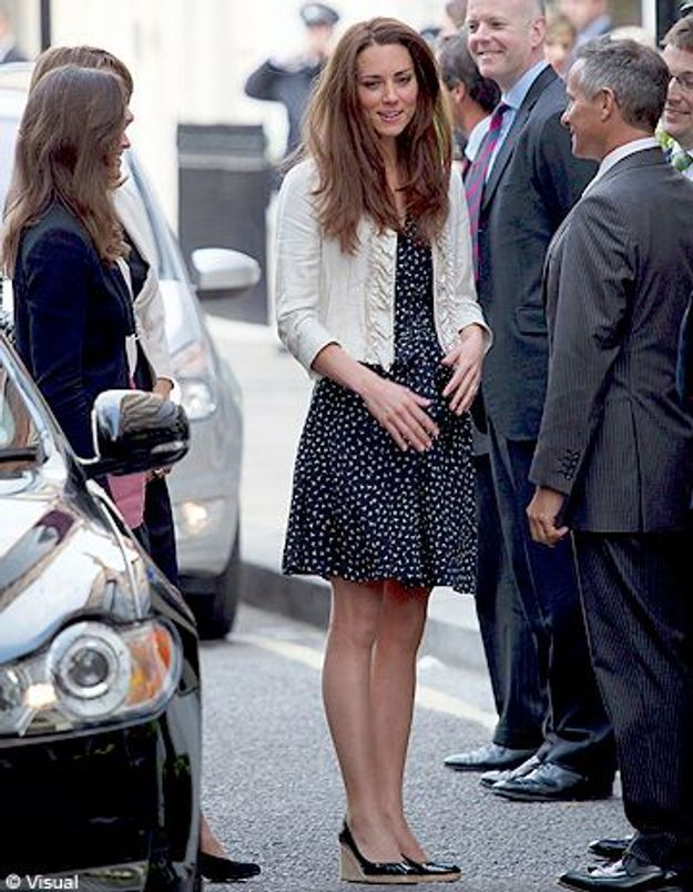 Le look du jour : Kate Middleton