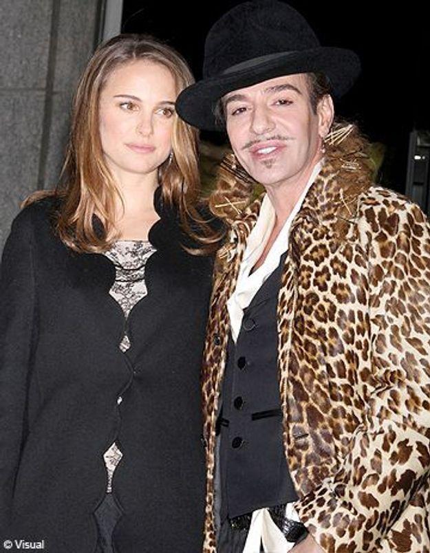 Natalie Portman condamne les propos de John Galliano