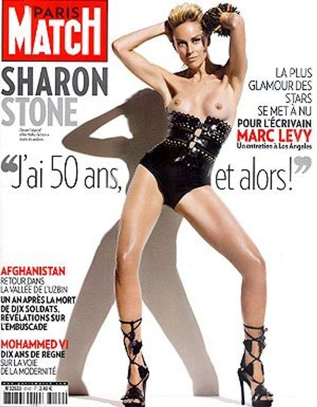 PHOTOS Sharon Stone pose nue pour le magazine Harper's