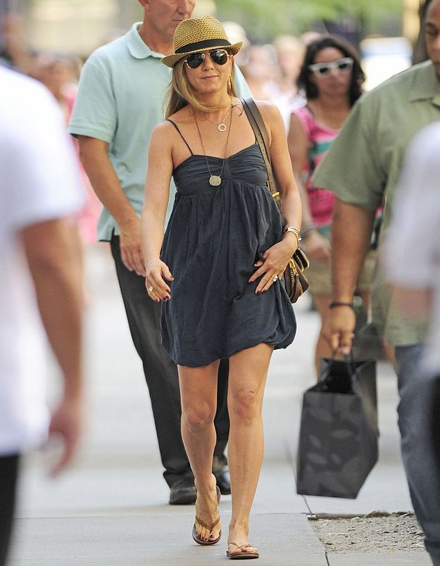 Le look du jour jennifer aniston superbe california Jennifer aniston fashion style pictures