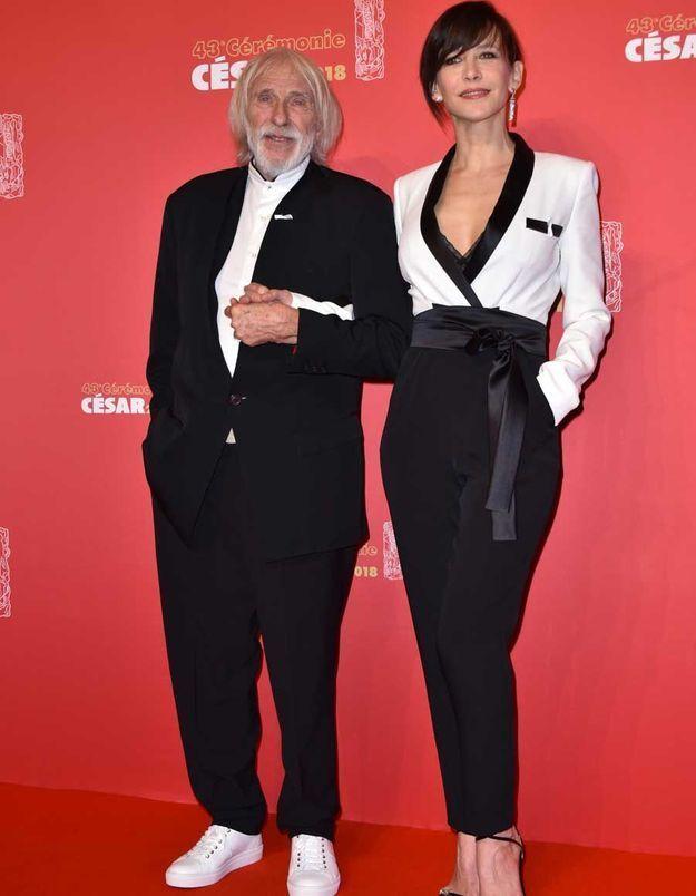 Sophie Marceau en Azzaro Ateliers et Pierre Richard