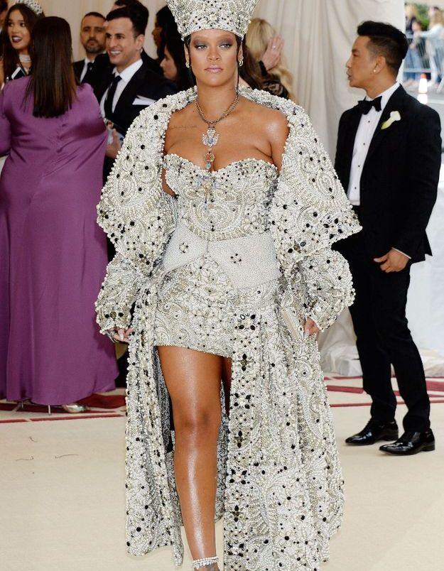 Rihanna en Maison Margiela