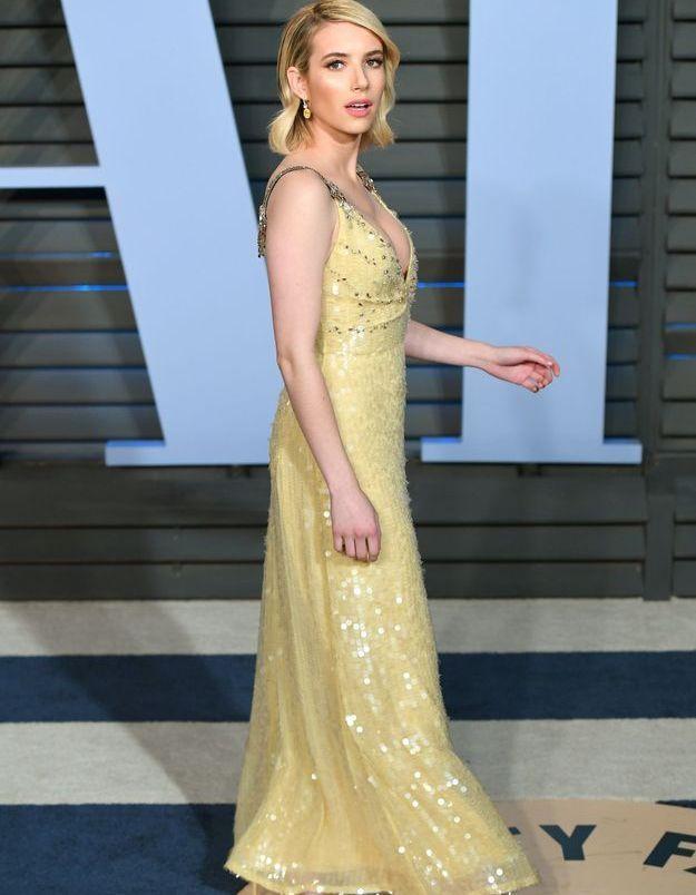 Emma Roberts en Prada