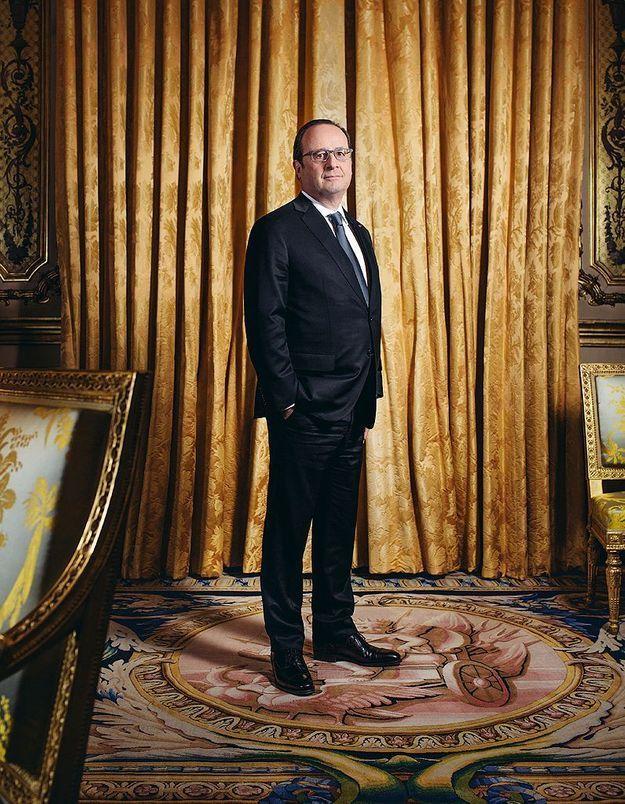 Retrouvez l'interview exclusive de François Hollande dans ELLE