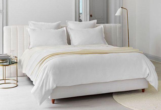 L'inspiration du jour : du linge de lit en lin, une première chez Descamps