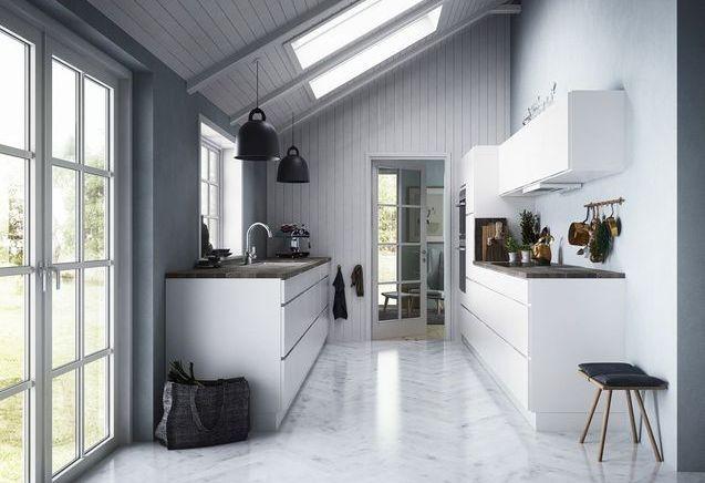 La cuisine blanche en 20 variations