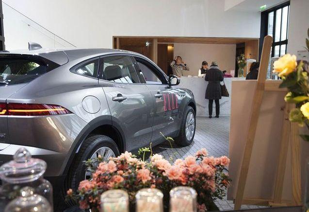 La nouvelle Jaguar E-PACE, star de la ELLE Community House