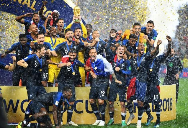 Revivez en images la victoire des Bleus