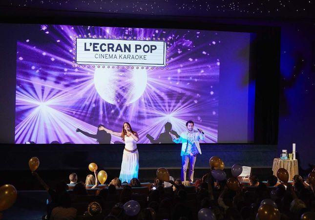 J'ai testé… « L'Écran Pop » qui transforme le Grand Rex en karaoké géant !