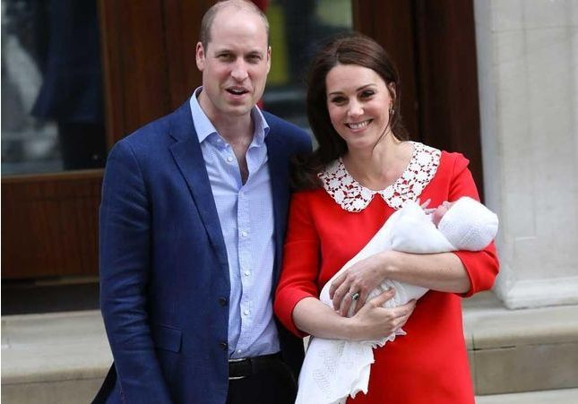 Kate Middleton a accouché d'un garçon