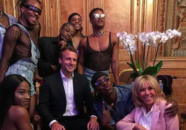 La fête de la musique à l'Elysée : les incroyables photos d'Emmanuel et Brigitte Macron qui font la fête !
