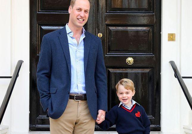 Quel est le nom utilisé par le prince George à l'école ?