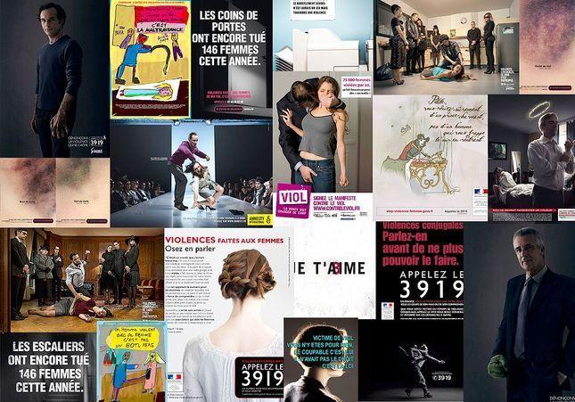 72 affiches pour dénoncer les violences faites aux femmes