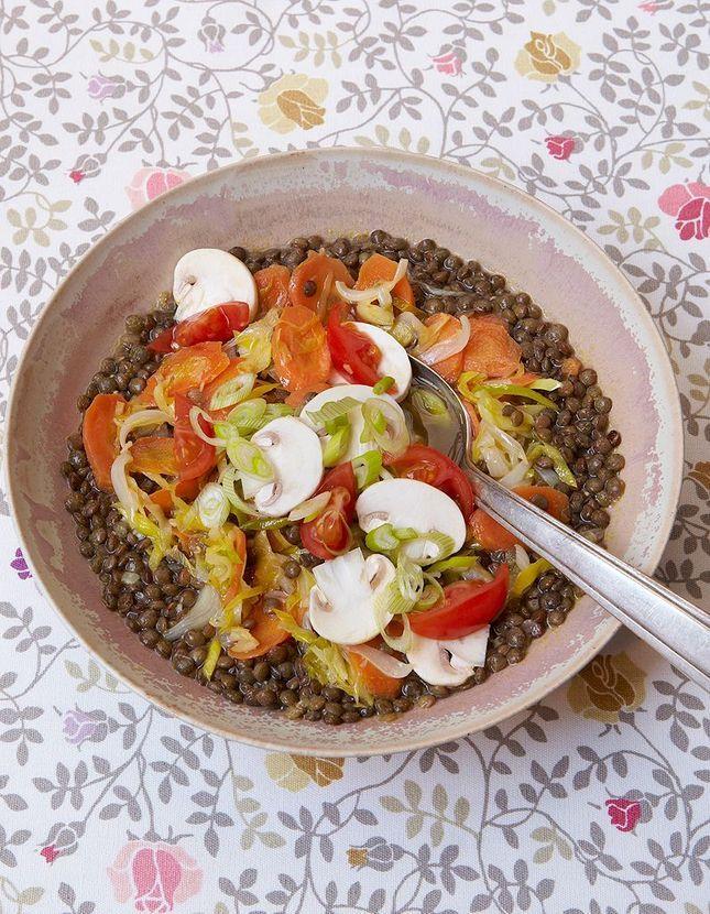 Lentilles recettes de cuisine lentilles elle table for 100 fiches cuisine de elle