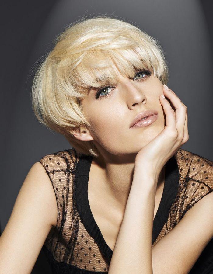 Super La coupe courte blond platine de Franck Provost - Coiffures de  LY37