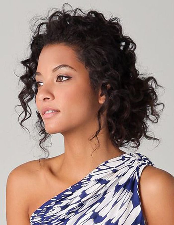Exceptionnel Coiffure cheveux frisés attachés - Cheveux frisés : nos plus  DN24