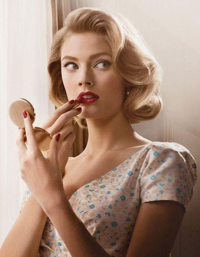 Top Coiffure vintage années 50 - Coiffure vintage : nos plus belles  KB16