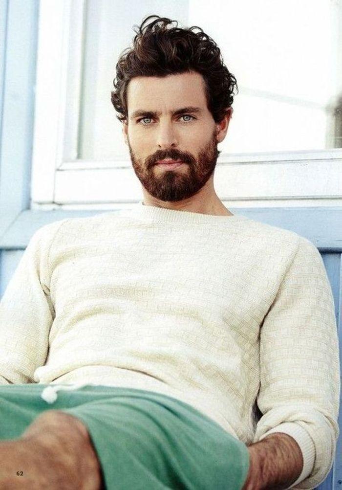Préférence Homme barbu aux yeux bleus - 20 beaux gosses à barbe repérés sur  KP09