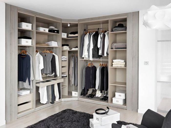Célèbre Déco chambre : armoire ou dressing, à vous de choisir ! - Elle  LE61
