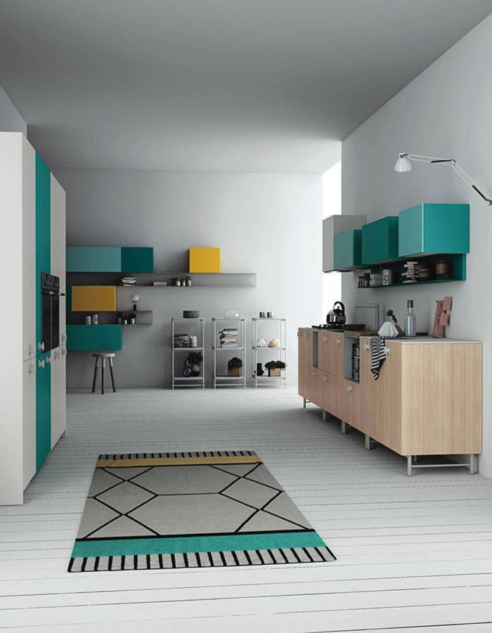 Favori Cuisine colorée : découvrez toutes nos inspirations - Elle Décoration PY23