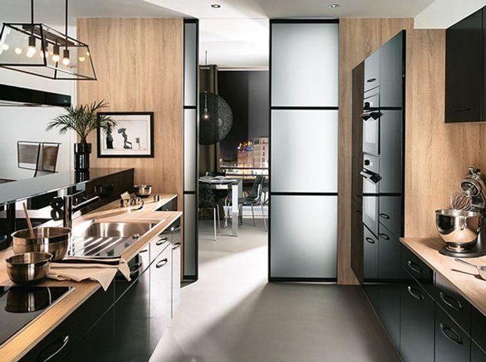 Exceptionnel Aménager une cuisine semi-ouverte sans travaux - Elle Décoration RF64