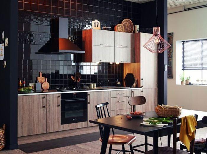 Préférence Une cuisine design pour un intérieur contemporain - Elle Décoration YB92